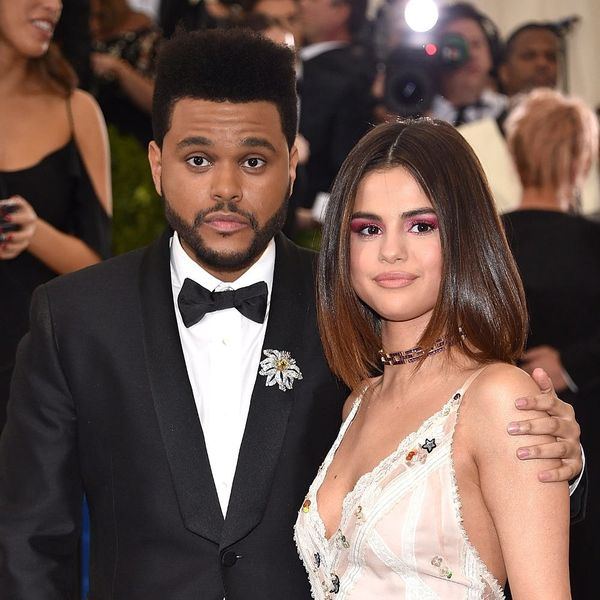 Selena Gomez and The Weeknd Bring the PDA to the Met Gala 2017 Red Carpet