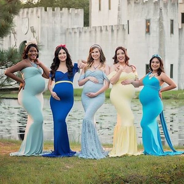 You Can Now Book a Disney Princess-Inspired Maternity Shoot