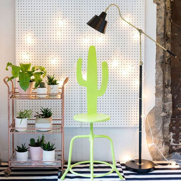 Add This Quirky DIY Cactus Stool to Your Jungalow
