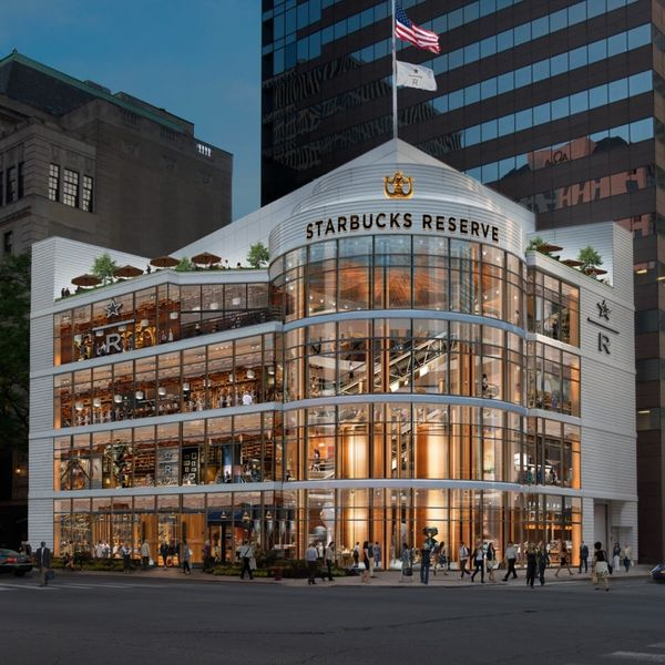 Starbucks Is Bringing a Giant 4-Story Roastery to Chicago