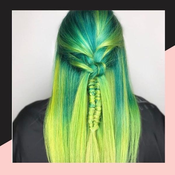 Slime Roots Are the Latest Instagram Hair Trend We're Not Quite Sure We Need