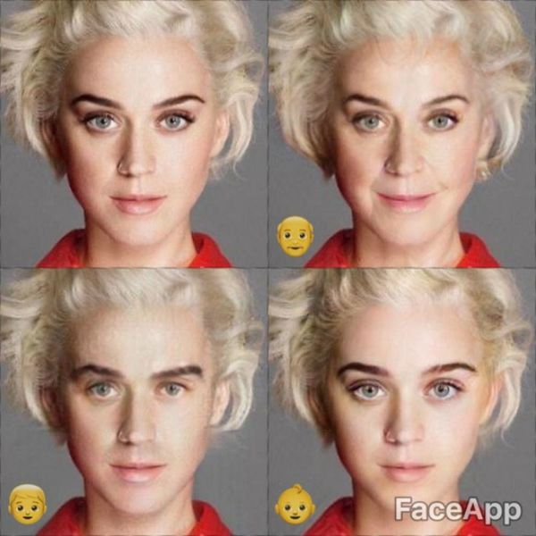 The FaceApp Filter Made These Celebs Look EXACTLY Like Other Celebs