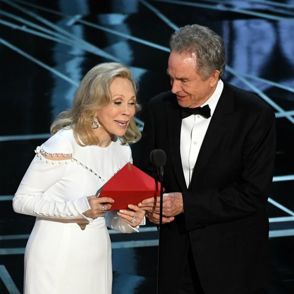 Faye Dunaway Finally Speaks Out About Her Role in the Oscars Mixup