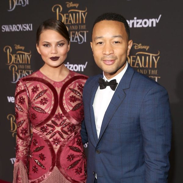 Chrissy Teigen and John Legend Had a Prom-Style Date Night