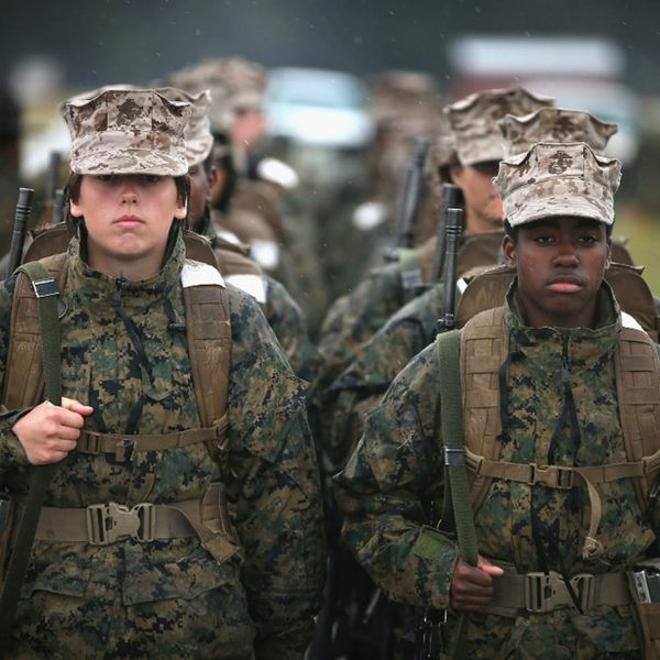 Here's How Woman Marines Are Standing Up for Their Rights While Serving Their Country