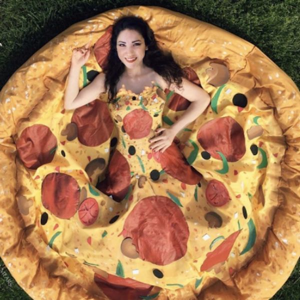 This Woman Created the Fantasy Pizza Prom Dress of Your Dreams