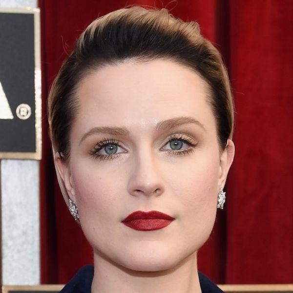 Evan Rachel Wood Is Now Rocking Hair That's a Fierce Shade of Blue