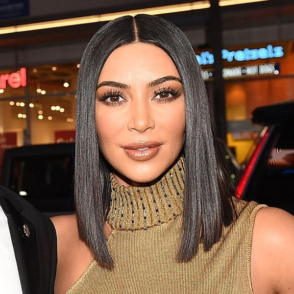 Kim Kardashian West Just Stepped Out in a Bra and… Bike Shorts?