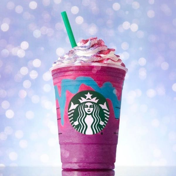 People Are Dyeing Their Hair to Match the New Unicorn Frappuccino