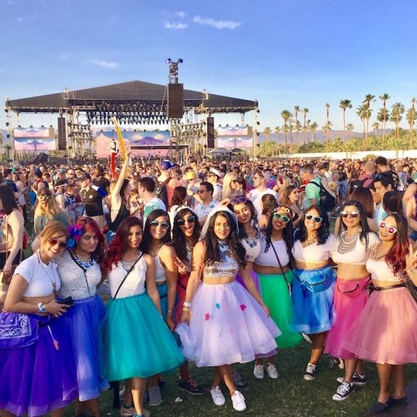 This Girl Had Her Bachelorette Party at Coachella and We're Mad We Didn't Think of It First