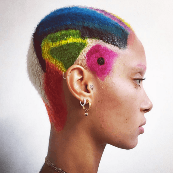 How to Wear the Graffiti Hair Trend for Summer Concerts