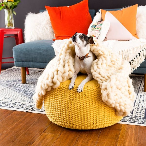 Hand Knit the Coziest Hygge Blanket EVER, With Zero Knitting Experience