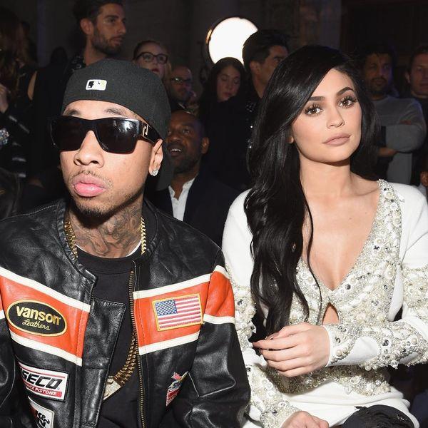 Kylie Jenner and Tyga Had an Awkwardly Sad Run-in at Coachella