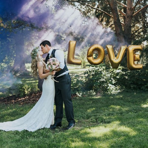 This Couple's Woodland Wedding Is a Down-to-Earth Dream