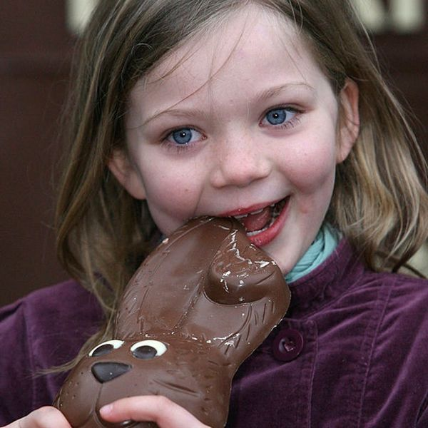 This Is the Most Popular Way to Eat a Chocolate Bunny
