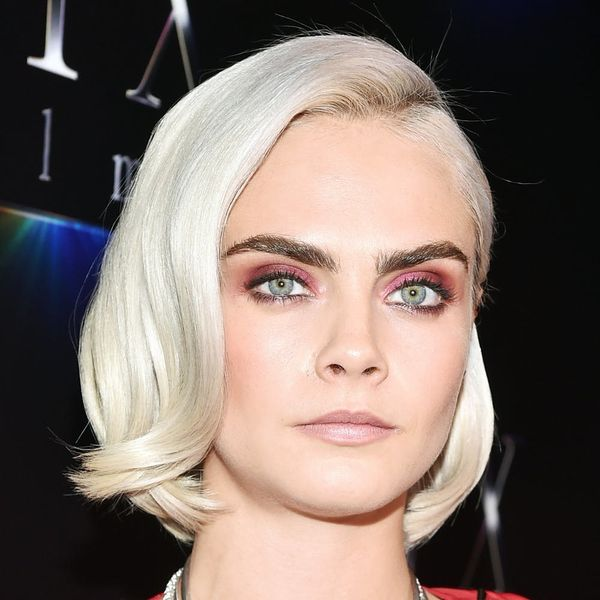 Cara Delevingne Is Giving Katy Perry a Run for Her Money With Her Newly Shaved 'Do