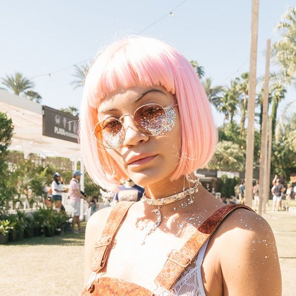 This Crazy New Makeup Trend Is Blowing Up at Coachella
