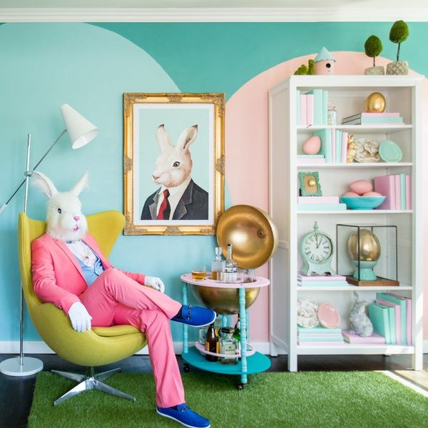 This Modern Easter Bunny Home Makeover Will Have You Hopping for Joy