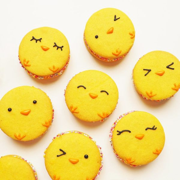 Cute Chick Sandwich Cookies Recipe Just in Time for Easter