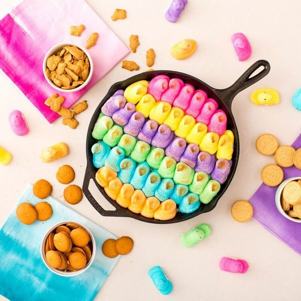 Get the Easter Party Started With Peeps Skillet Dip