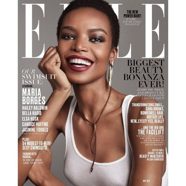 5 Things to Know About Maria Borges, Elle's First African Cover Girl