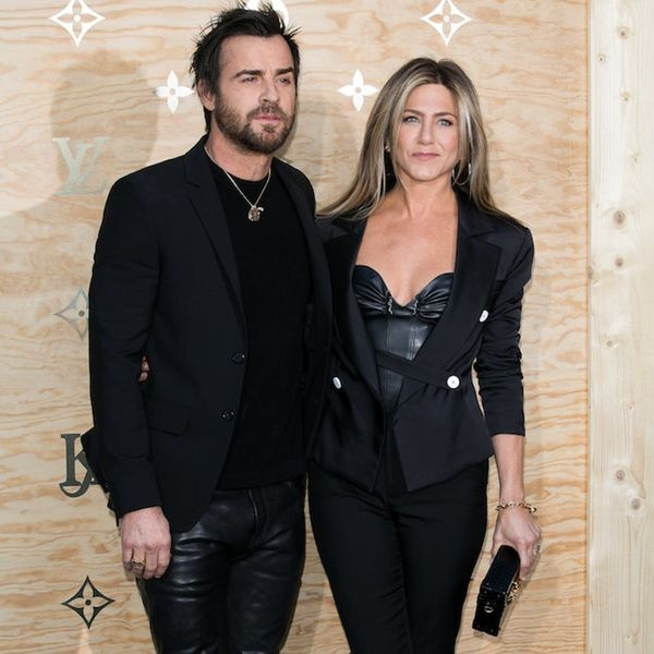 Jennifer Aniston, Justin Theroux, and Their Matching Outfits Are #RelationshipGoals