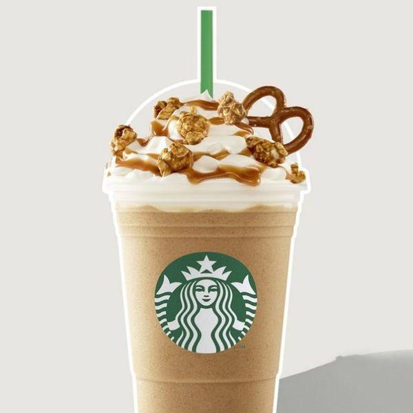This New Starbucks Frappuccino Has Popcorn on It