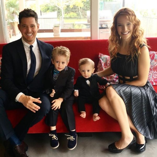 Michael Bublé's 3-Year-Old Son Is Officially Cancer-Free