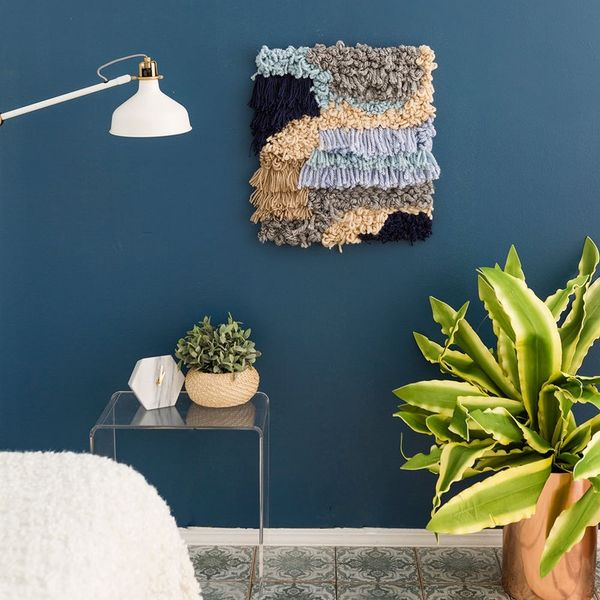 Update Your Wall Decor With This Weaving Hack