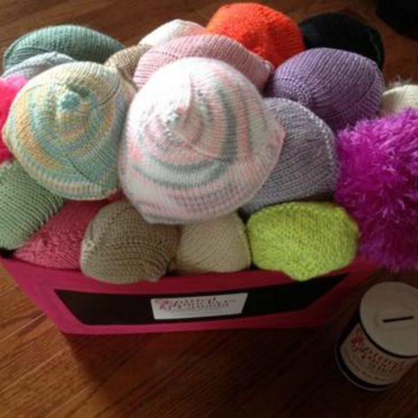 This Woman Is Knitting Boobs for Breast Cancer Survivors