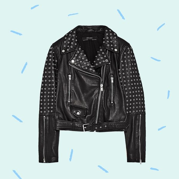 3 Fresh Ways to Style a Leather Jacket for Spring, According to Celebs