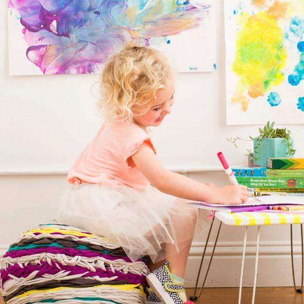 10 Creative Ways to Display Your Children's Art
