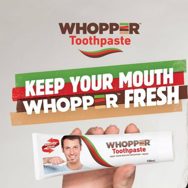 Burger King Is Gracing Us With Whopper Flavored Toothpaste