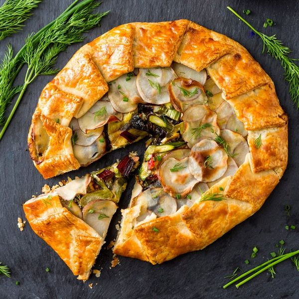 You'll Want to Make This Spring Seasonal Vegetable Galette Hack ASAP