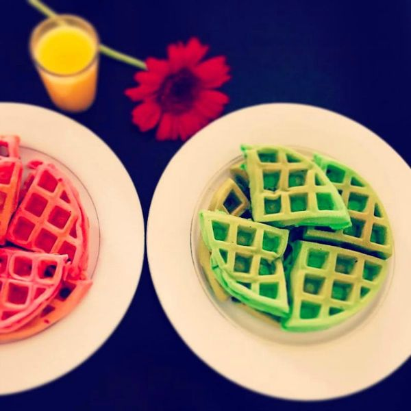 The Instagram Waffle Trend That Will Turn *Everyone* Green With Envy