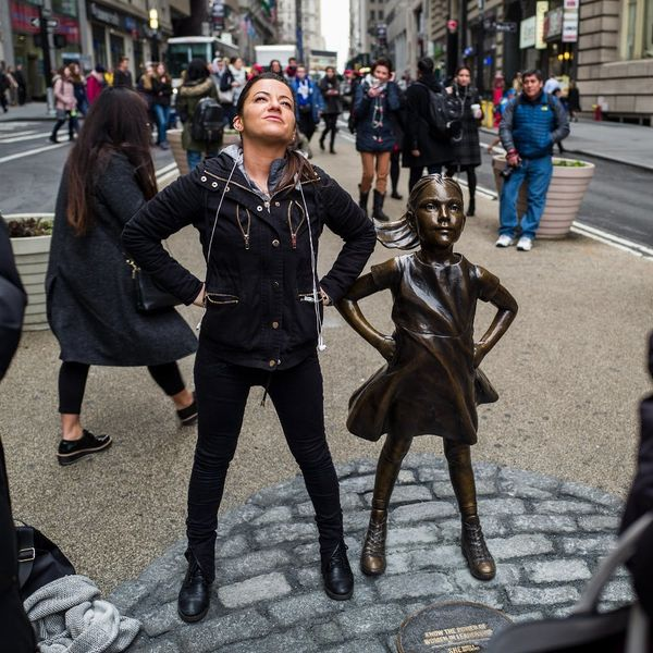 NYC's Fearless Girl Statue Will Be Standing Her Ground for Another Year