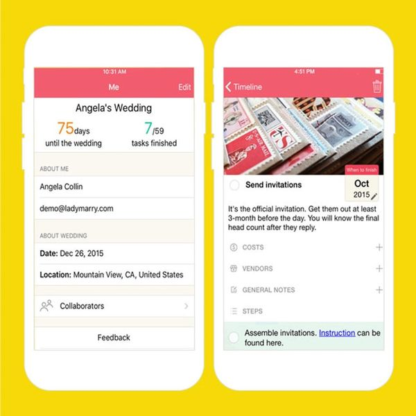 This Wedding Planning App Helps You Check Off the List Without Blowing Your Budget