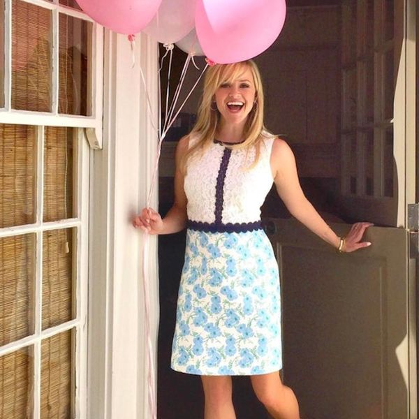 Shop Reese Witherspoon's Custom Draper James Birthday Dress