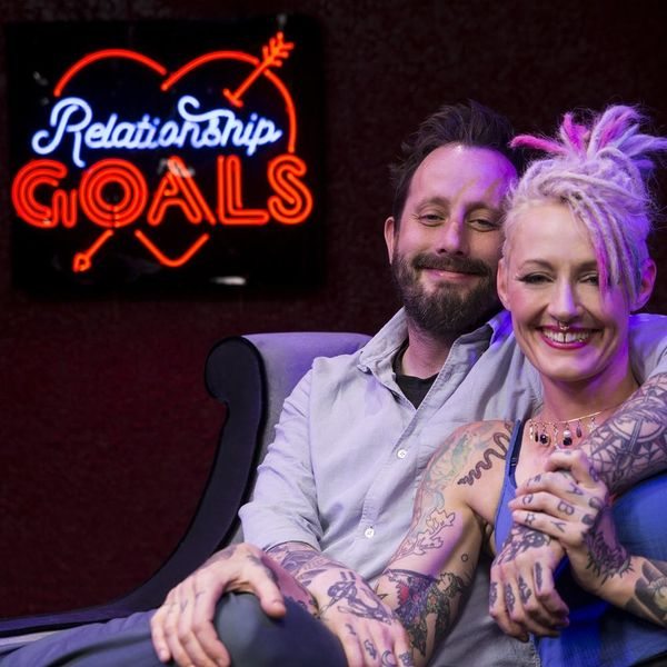 This Podcasting Power Couple Is Redefining #relationshipgoals