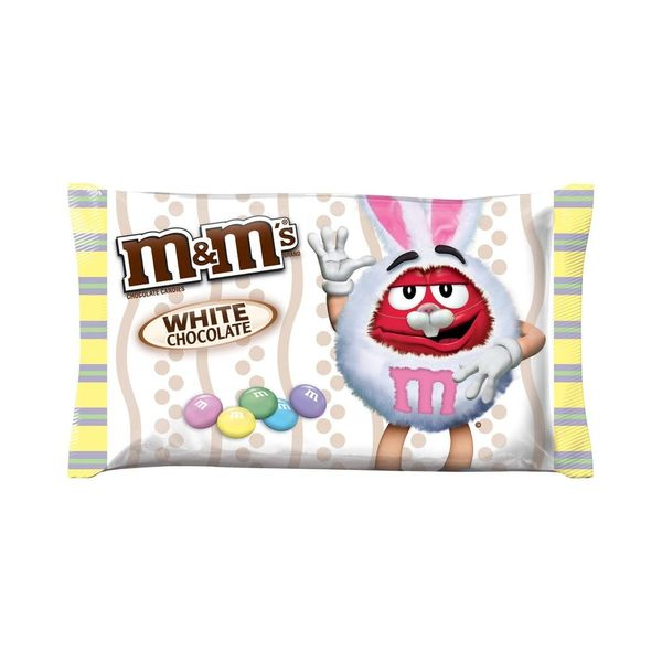 White Chocolate M&Ms Are Becoming a Permanent Thing