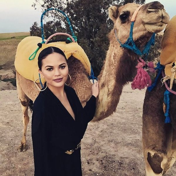 Copy Chrissy Teigen's Moroccan Vacay Style on the Cheap