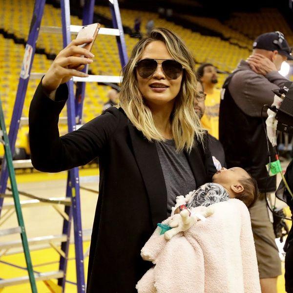 Chrissy Teigen's Baby Luna Is Talking Now and It's So Wildly Cute