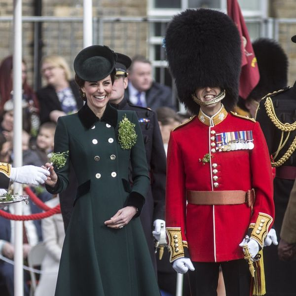 Kate Middleton Went All Green Everything for St. Paddy's Day (Naturally)