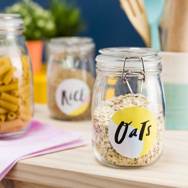 Download These Free Printable Jar Labels to Organize Your Kitchen Pantry
