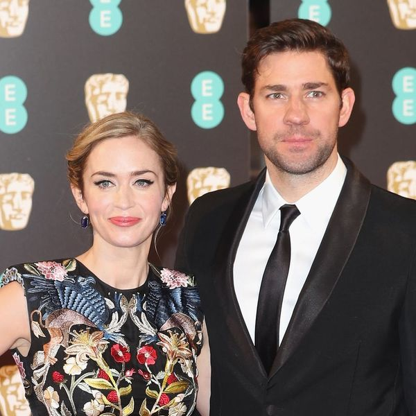 John Krasinski Announced That He Was Working on a Film With Wife Emily Blunt in the Sweetest Way Possible
