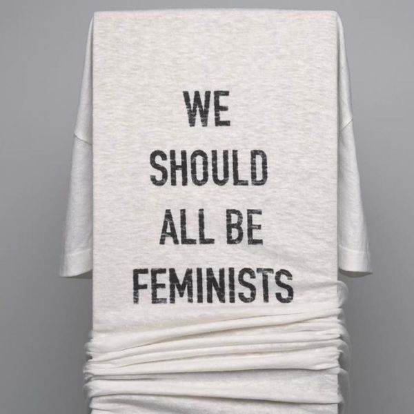 "Dior's ""We Should All Be Feminists"" Tee Is Available Now for a Mere $710"