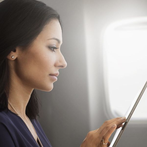 This Woman's Headset Exploded on the Plane… While She Was Wearing It
