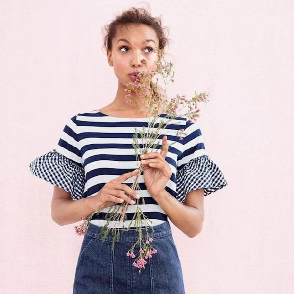 J.Crew Just Invented Its Own Holiday to Celebrate Stripes