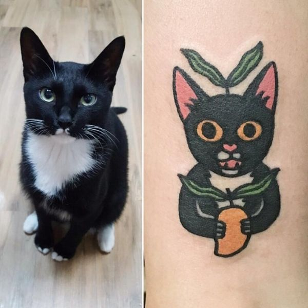 This Artist Will Turn Your Pets into the Cutest Tattoos EVER