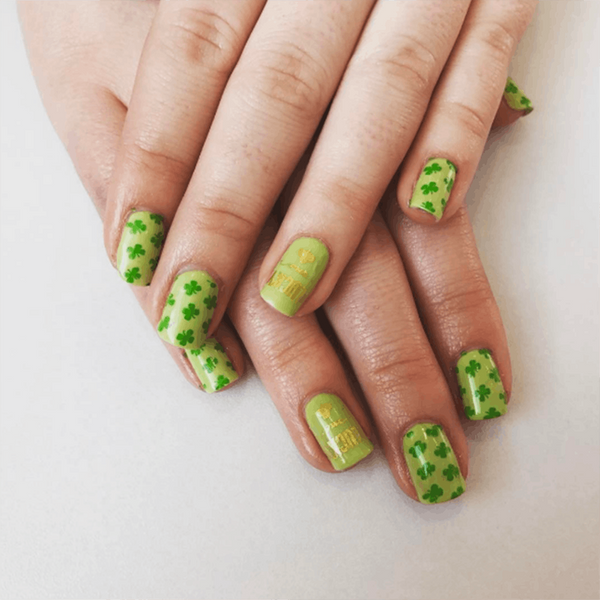 8 St. Patrick's Day Nail Art Ideas That Will Give You All the Luck You Need